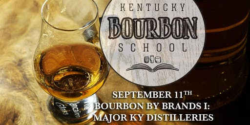 Bourbon by Brands I: Major Kentucky Distilleries • SEPT 11 • KY Bourbon School (was Bourbon University) @ The Kentucky Castle