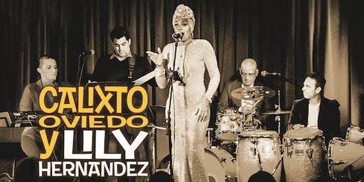 Calixto Oviedo & Lily Hernandez at Jazzville Palm Springs - Wang's
