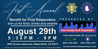 1st Annual First Responders Recognition Dinner