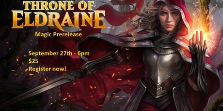 Magic Prerelease: Throne of Eldraine tickets