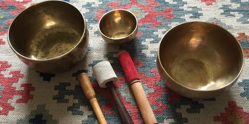 Sound Journey ~ singing bowls, voice, chimes, drum ~ relaxing & healing