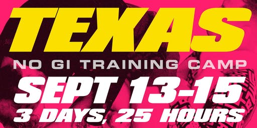 Texas Nogi Training Camp