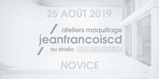 ATELIER MAQUILLAGE NOVICE - 25 AOÛT 2019 (MATIN)