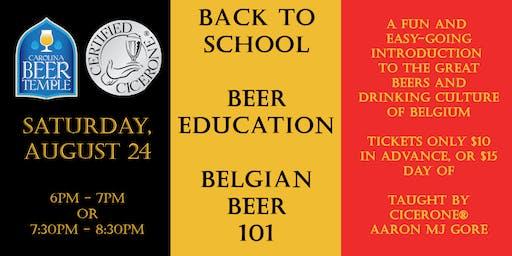 Beer Education: Belgian Beer 101
