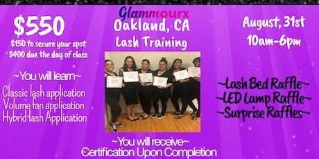 Glammourx Lash Training  tickets