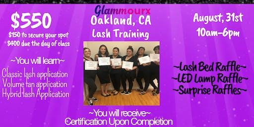 Glammourx Lash Training