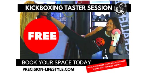 FREE Precision Kickboxing Taster Session (all levels)