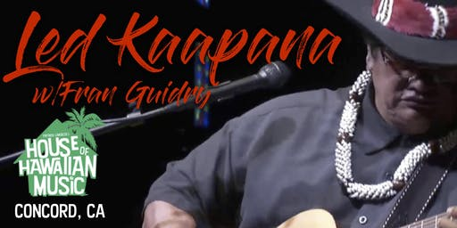 Led Kaapana -- At Patrick Landeza's HOUSE OF HAWAIIAN MUSIC -CONCORD