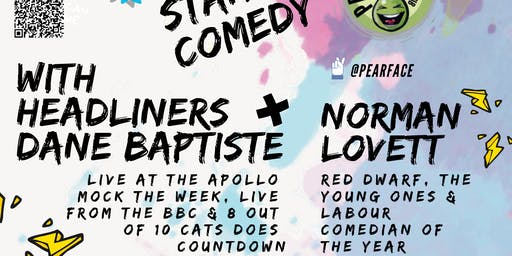Live Stand up Comedy with Headliners Norman Lovett and Dane Baptiste
