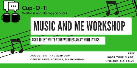 Music and Me Workshop (Ages 10-16) tickets