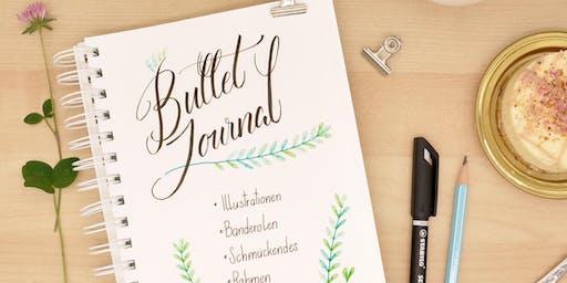 Bullet Journal und Schmuckelemente in Graz