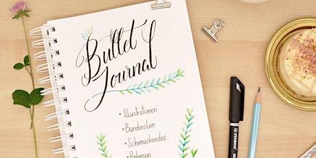 Bullet Journal - Schmuck-Elemente, Lettering und Tee! - Graz Tickets