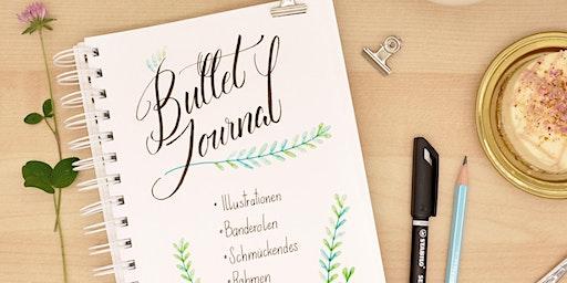 Bullet Journal - Schmuck-Elemente, Lettering und Tee! - Graz