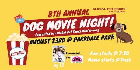 Hintonburg Dog Movie Night tickets