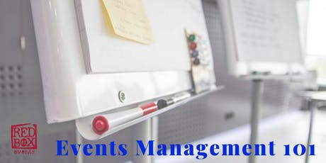 Events Management 101 tickets