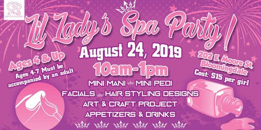 Lil Lady's Spa Party!