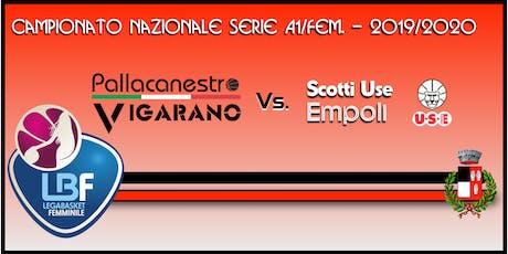 Pallacanestro Vigarano vs USE Scotti Empoli biglietti
