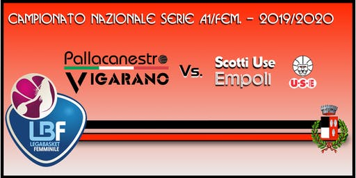 Pallacanestro Vigarano vs USE Scotti Empoli
