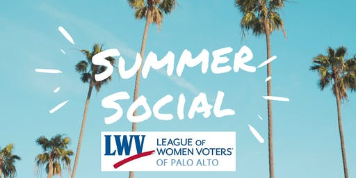 LWVPA's Backyard Summer Social: Join Us On August 23rd!