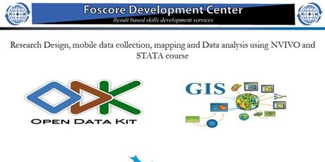 Research Design, mobile data collection and mapping, Data analysis tickets