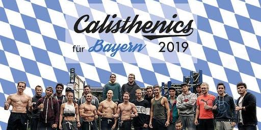 Calisthenics für Bayern 2019