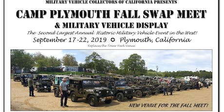Camp Plymouth Swap Meet & Military Vehicle Display tickets