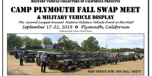 Camp Plymouth Swap Meet & Military Vehicle Display