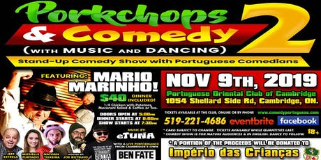 Porkchops and Comedy 2 tickets