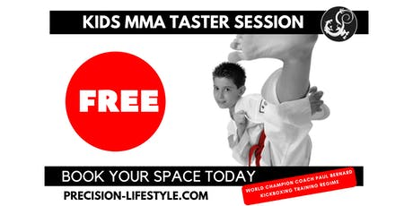 FREE Kids MMA Winter Taster Session (5-10yrs) tickets