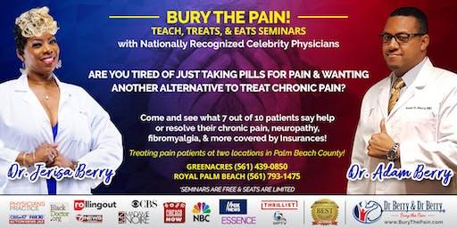 Bury The Pain! Teach, Treats, and Eats Seminar w/ Dr Adam & Dr Jerisa Berry