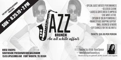 Jazz Brunch:  An all white affair