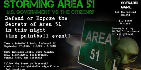 Storming Area 51 tickets