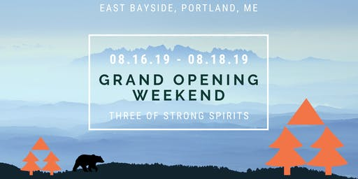 Three of Strong Spirits Grand Opening