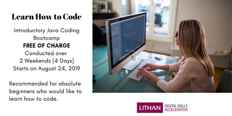 Introduction to Coding Bootcamp tickets