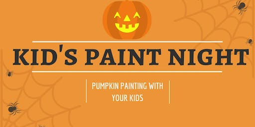 Kiddo Pumpkin Painting