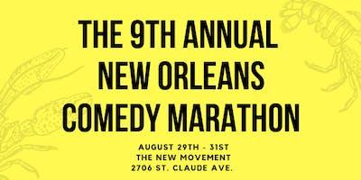 The 9th Annual New Orleans Comedy Marathon