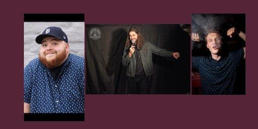 Haddon's Comedy Club presents: Justin Pedick, Tim Reaburn and Bart Dangus