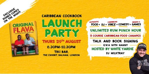 Original Flava Cookbook launch Event Party