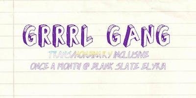GRRRL Gang: September Meet Up