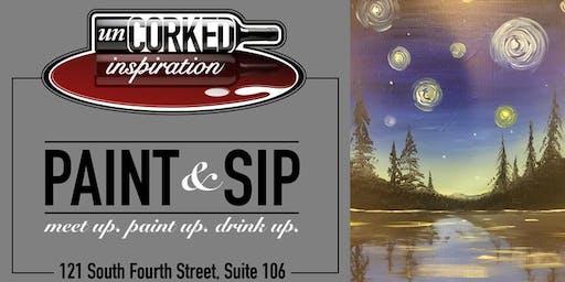 Paint & Sip | Lakeside Starry Night
