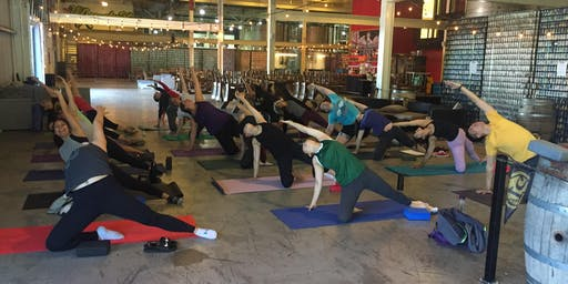 Yoga at 21st Amendment