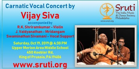 Vijay Siva - A Grand Carnatic Music Concert tickets