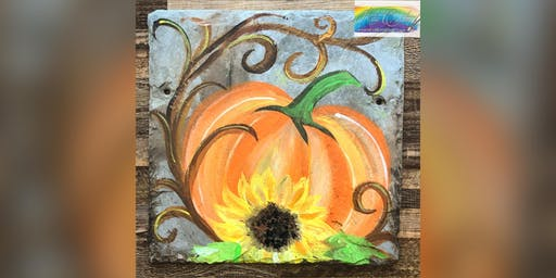 Fall Pumpkin: Glen Burnie, Sidelines: with Artist Katie Detrich!