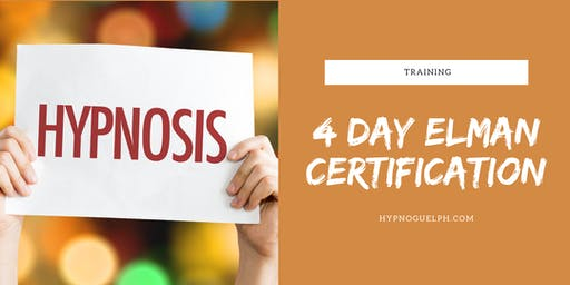 4 Day Elman Hypnosis Certification