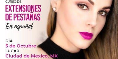 Curso de Extensiones de Pestañas - Ciudad Mexico