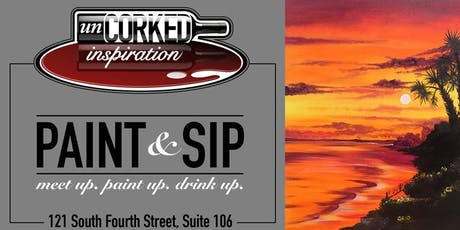 Paint & Sip | Georgia Sunset (limited seating) tickets