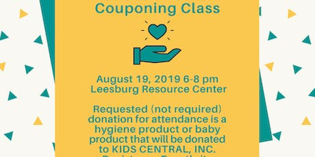 Couponing Class tickets