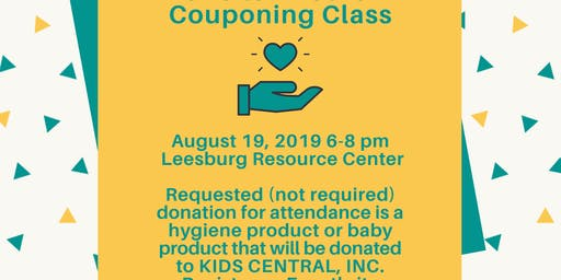 Couponing Class