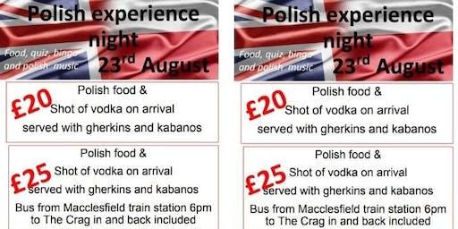 Polish Experience Evening