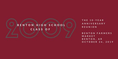 BHS Class of 2009 10-Year High School Reunion tickets